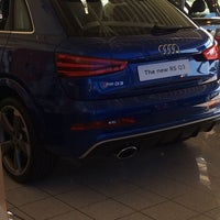 Photo taken at Eastbourne Audi by Dainis Z. on 3/17/2014