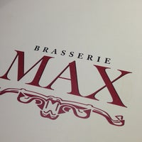 Photo taken at Brasserie Max by Maria Clara L. on 12/23/2012