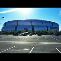 Photo taken at University of Phoenix Stadium by Kenny T. on 12/16/2012