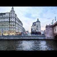 Photo taken at Baltschug Kempinski by Михаил К. on 9/29/2012