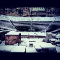 Photo taken at Teatro Romano by Storvandre on 12/8/2012