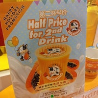 Photo taken at Milk King 高雄牛乳大王 by nicole t. on 12/5/2013