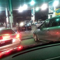 Photo taken at PETRONAS Station by nicole t. on 9/2/2013