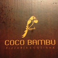 Photo taken at Coco Bambu Pizzaria & Cozinha by Marcelo U. on 3/26/2013