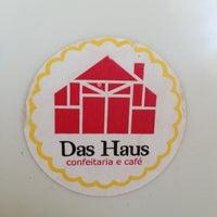 Photo taken at Das Haus Confeitaria Alemã by Marcelo U. on 8/8/2013
