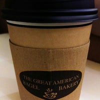 Photo taken at the great American bagel by Nadir B. on 7/16/2015