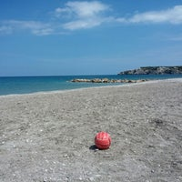 Photo taken at Kolymbia Beach by Graham D. on 5/11/2014