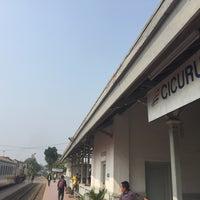 Photo taken at Stasiun Cicurug by Wisnu W. on 9/19/2015