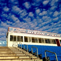 Photo taken at Nixon Field (James F. Byrnes High School) by Kevin C. on 7/3/2015