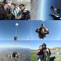 Photo taken at Skydive San Diego by Thuy L. on 2/8/2015