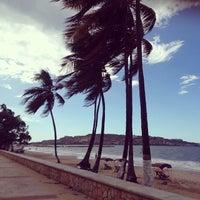Photo taken at Playa Los Canales by Najim N. on 11/11/2013