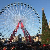 Photo taken at Grand'Place – Place du Général de Gaulle by Franck P. on 12/8/2012