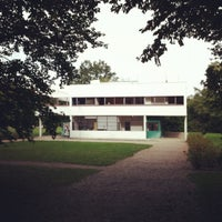 Photo taken at Villa Savoye by Antonio R. on 10/2/2012