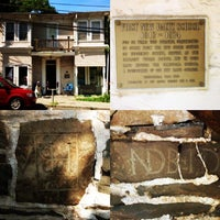 Photo taken at Historic Huguenot Street by Taylor S. on 7/12/2014