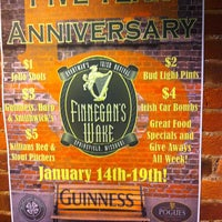 Photo taken at Finnegans Wake & Revival by Kevin P. on 1/17/2013
