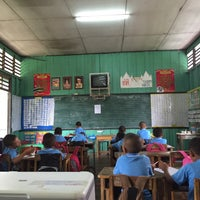 Photo taken at โรงเรียนบ้านกอย by •˚☂ⓜ ⓘ ⓝ ⓣ ⓔ ⓡ☂˚• on 8/9/2016