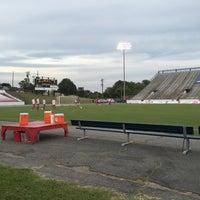 Photo taken at City Stadium by Sherri W. on 8/29/2015