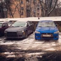 Photo taken at Баррабулина Паарковка by Сергей B. on 1/13/2014