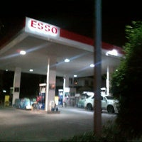Photo taken at Esso Gas Station - Ladprao 38 by Poom S. on 10/3/2012