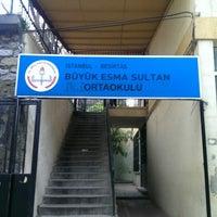 Photo taken at Büyük Esma Sultan Ilkogretim Okulu by Cenk C. on 4/1/2015