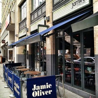 Photo taken at Jamie's Italian by Fabio T. on 3/21/2013