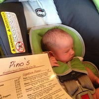 Photo taken at Pino's Pizzeria by Matt H. on 6/23/2013
