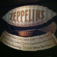 Photo taken at Zeppelins Bar & Grill by Sarah Z. on 12/16/2012