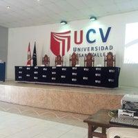 Photo taken at Universidad César Vallejo by Jontxu P. on 1/31/2013