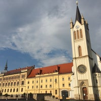Photo taken at Fő tér by MHD M. on 5/24/2017