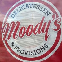 Photo taken at Moody's Delicatessen & Provisions by Jeremy K. on 11/8/2013