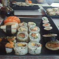 Photo taken at Sushi Drive by Natália M. on 5/9/2013