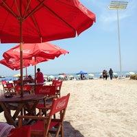 Photo taken at Playa Cavancha by Ricardo M. on 2/17/2013