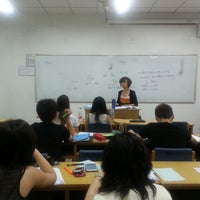 Photo taken at 俄文楼 by Laura J. on 5/17/2013