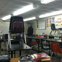 Photo taken at Olympic High School by Tyler C. on 10/27/2012