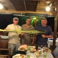 Photo taken at Beach Grill Roatan by Lisa's List on 3/30/2013