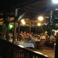 Photo taken at Beach Grill Roatan by Lisa's List on 3/25/2013