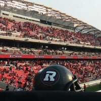 Photo taken at TD Place Stadium by Brian P. on 7/18/2014