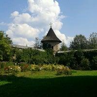 Photo taken at Biserica Mânăstirii Moldovița by Emma A. on 9/12/2016