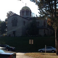 Photo taken at Holy Cross Chapel by Maria P. on 10/27/2013