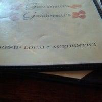 Photo taken at Gamberetti's Italian Restaurant by Diane B. on 10/5/2012