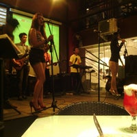 Photo taken at D'Lounge Cafe & Resto by Heru S. on 4/20/2013