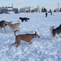 Photo taken at Airport Dog Park by Nora G. on 3/8/2013