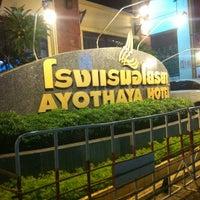 Photo taken at Ayothaya Hotel by Ancharee M. on 1/3/2014