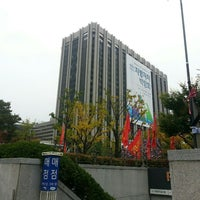 Photo taken at 세종로공원 by 한빈 김. on 10/26/2016