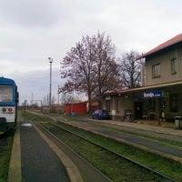 12/25/2015 tarihinde Michal M.ziyaretçi tarafından Železniční stanice Brandýs nad Labem'de çekilen fotoğraf