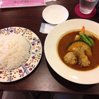Photo taken at ジャングルスープカレー by Kenzo M. on 7/4/2015