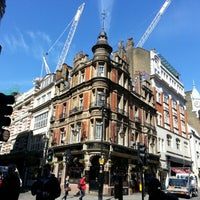 Photo taken at Shaftesbury Avenue by Marina F. on 5/2/2013
