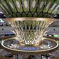 Photo taken at Abu Dhabi International Airport (AUH) by Marina F. on 2/4/2013