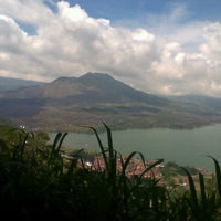 Photo taken at Batur View Spot by Marina F. on 12/7/2012