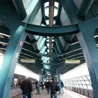 Photo taken at metro Ulitsa Gorchakova by Marina F. on 4/22/2013